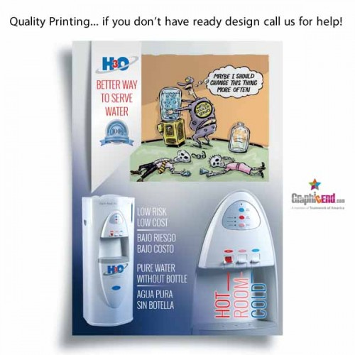 Dallas DFW Flyer Printing Same Day High Quality Cheap Price Downtown Delivery And Design