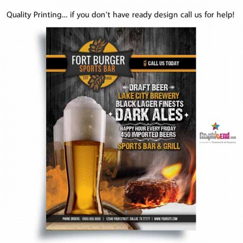 Dallas dfw flyer printing same day high quality cheap price flyer color printing colourmoves